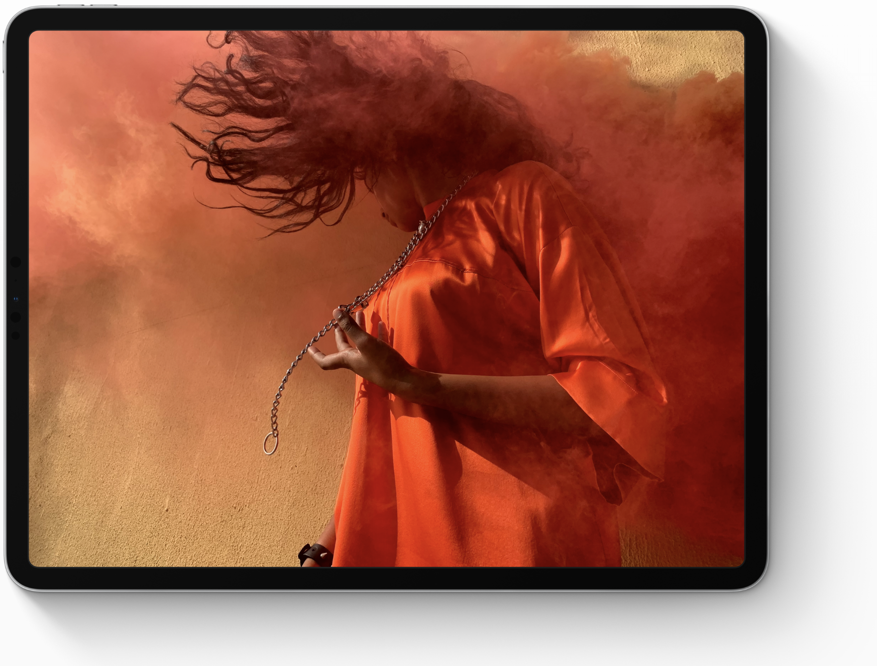 the screen of the brand new iPad pro
