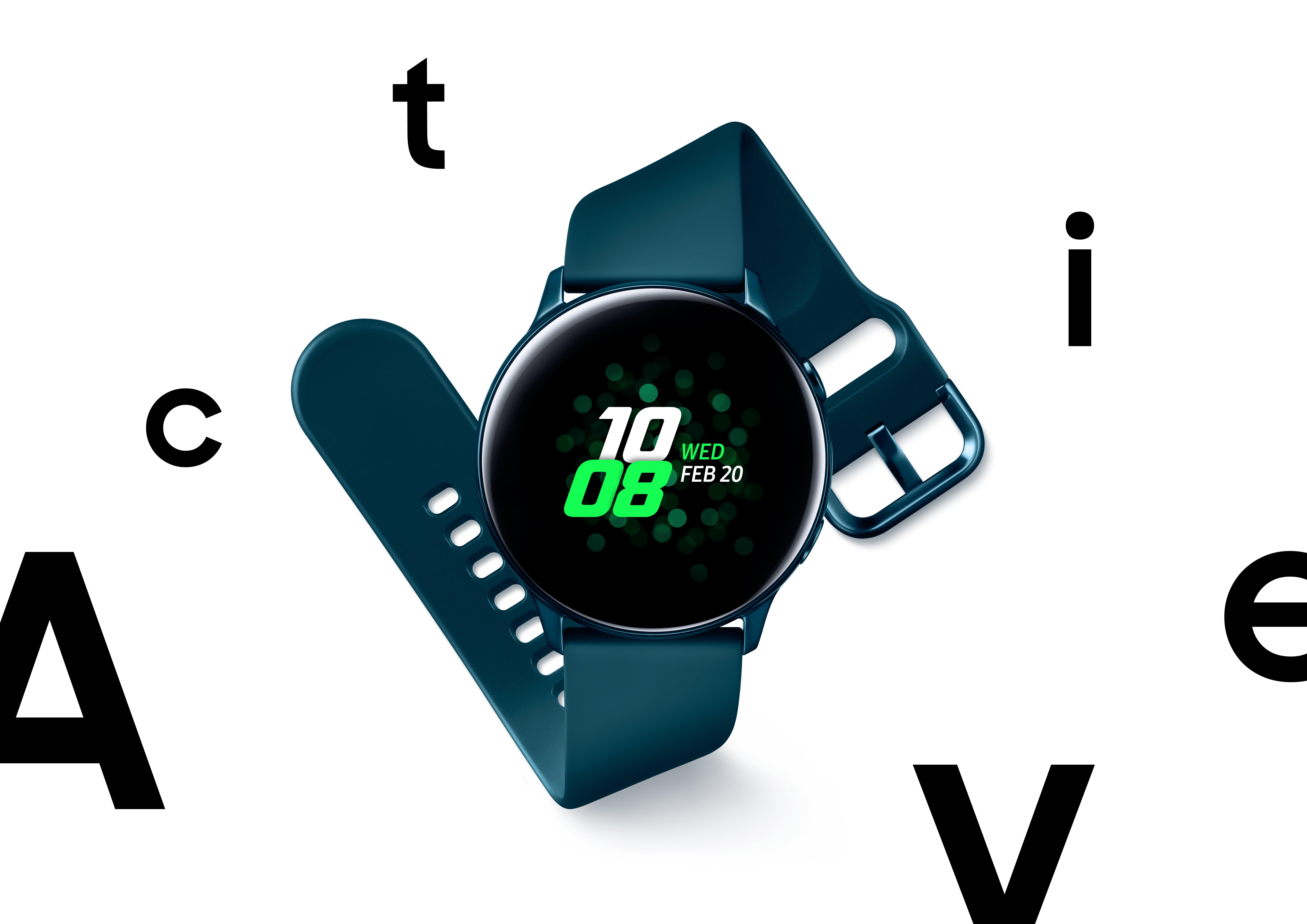Green Galaxy Watch Active