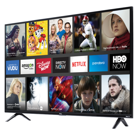 options on the TCL TV