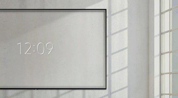 Samsung ambient clock