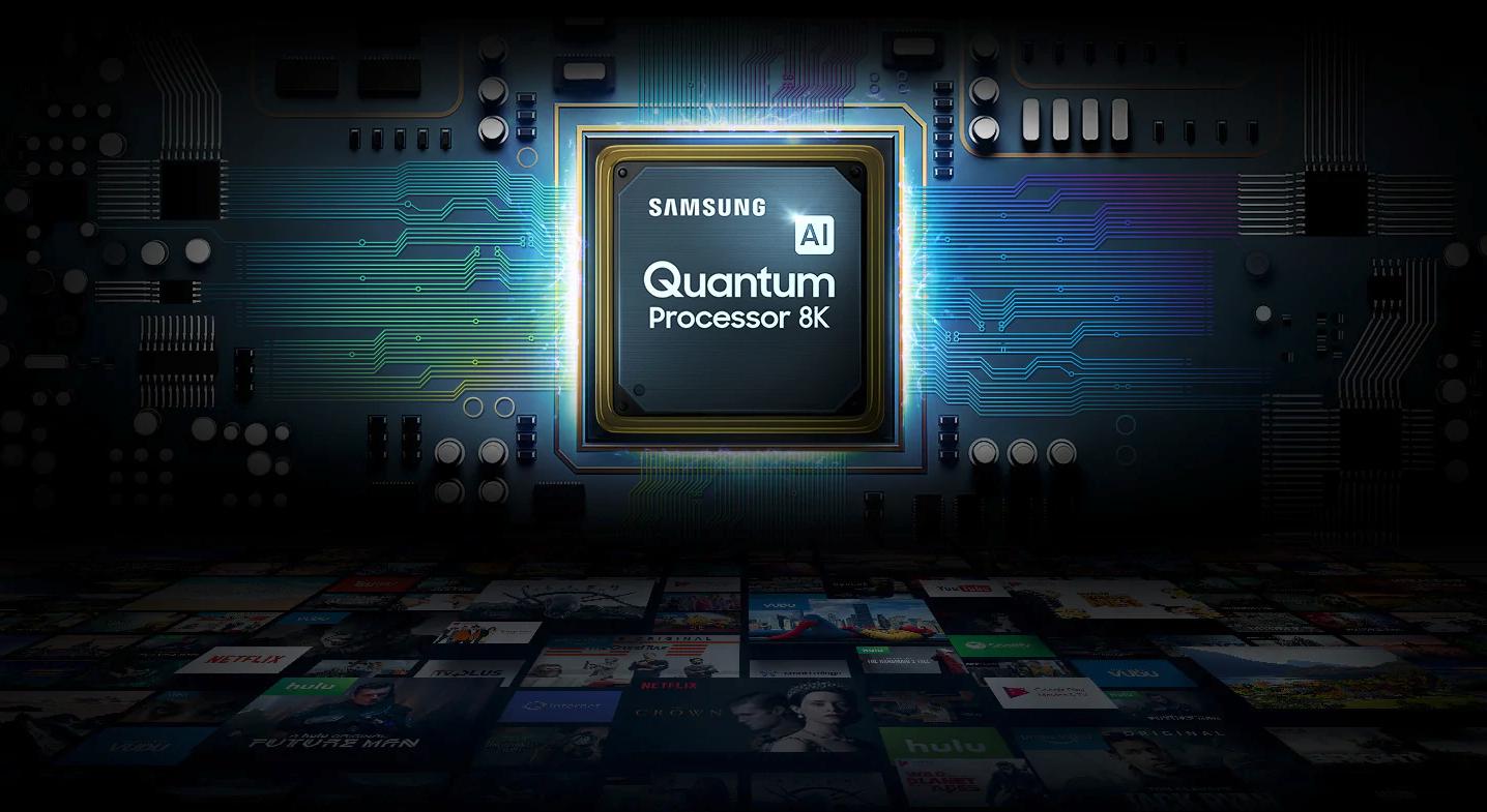 Samsung quantum processor 8k