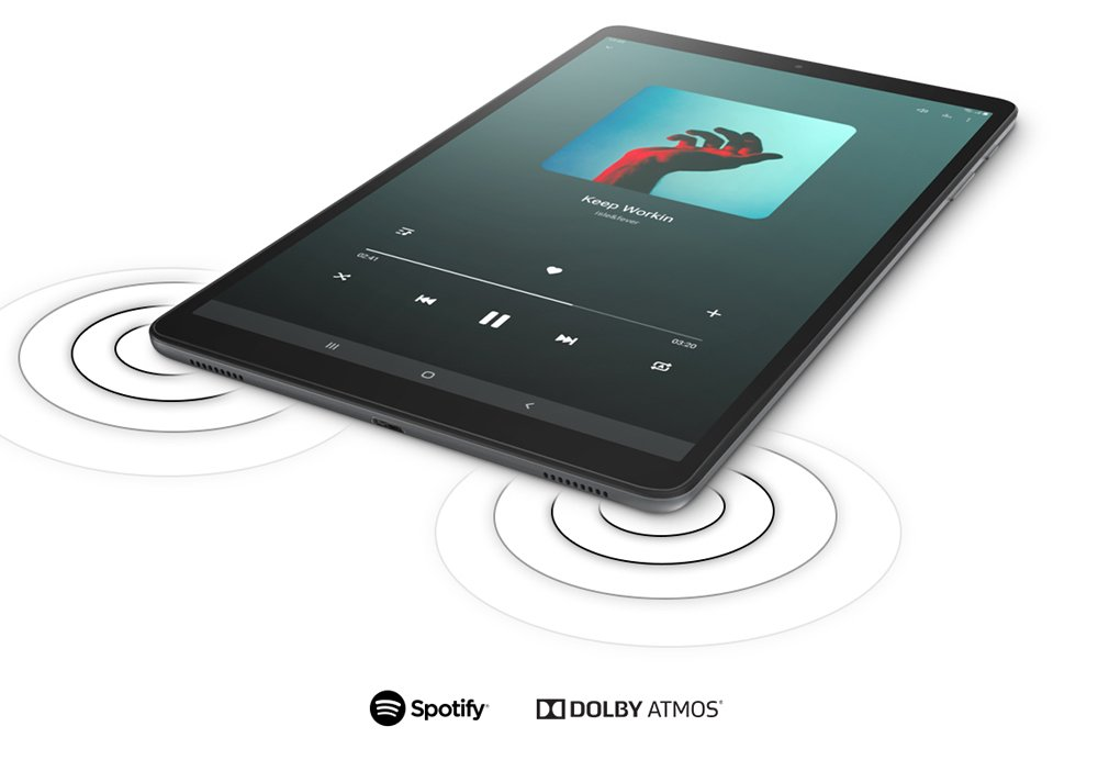 dolby atmos on samsung tablet