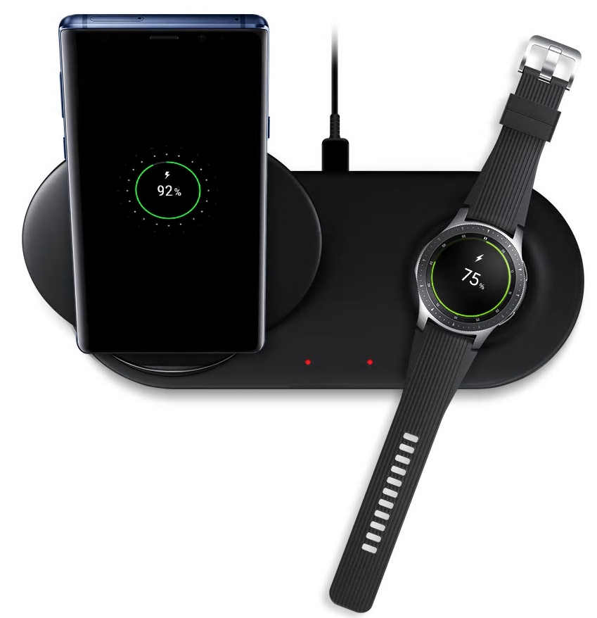 samsung devices on wireless charger