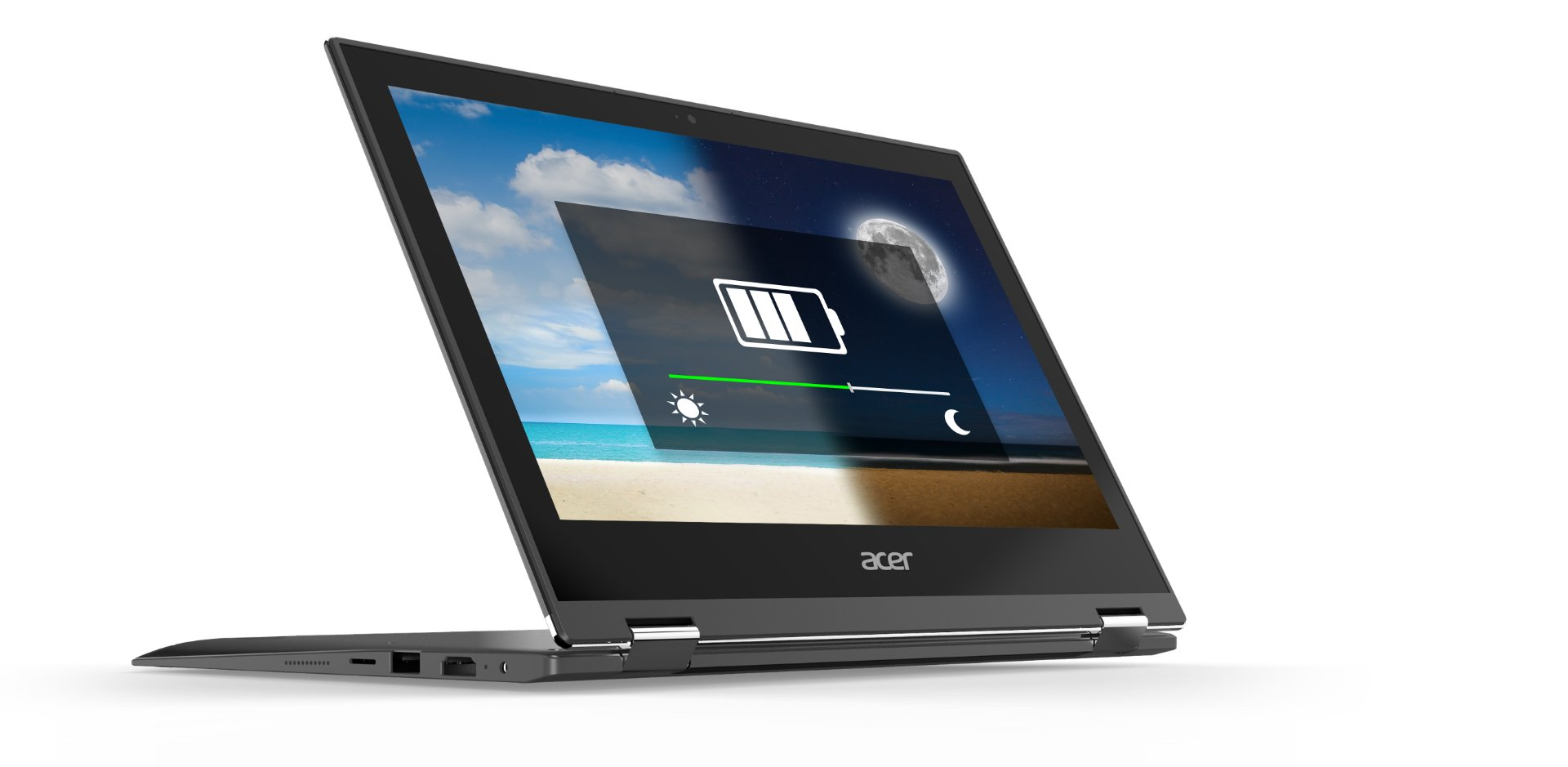 Acer Spin1 Long battery life