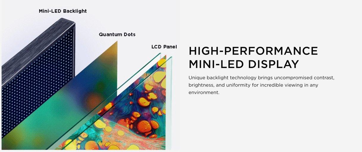 TCL 6 Series High Performance Display
