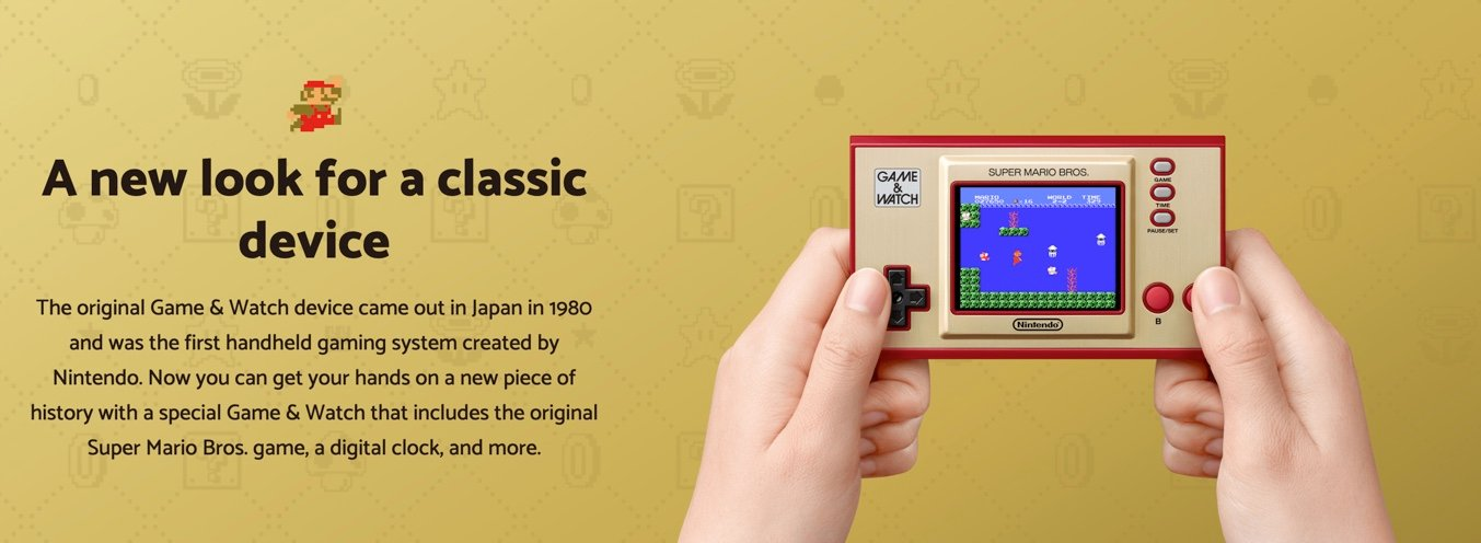 Nintendo Game and Watch History
