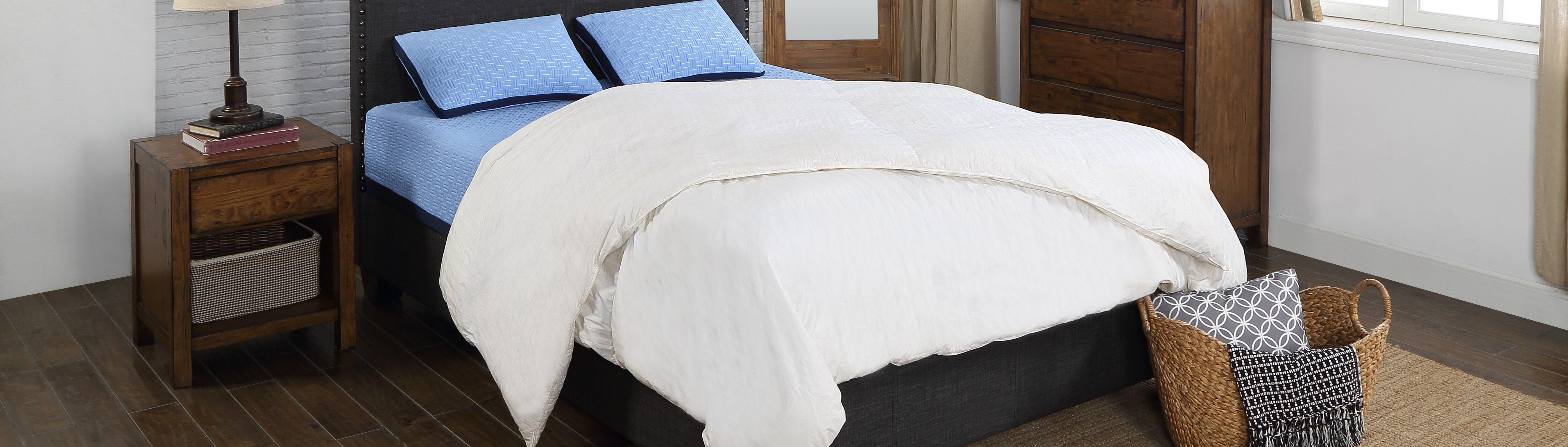 Blue Burrito with Bedding