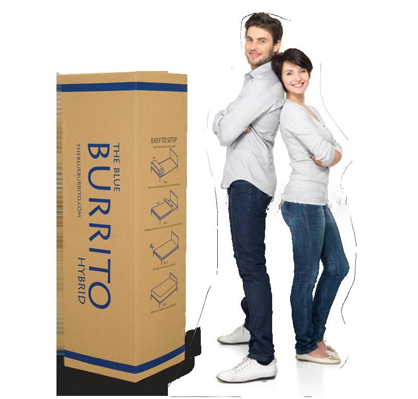 Blue Burrito Box