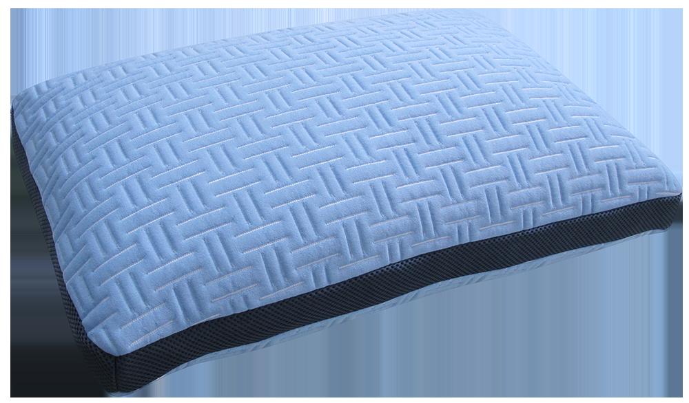 Blue Burrito Single Pillow