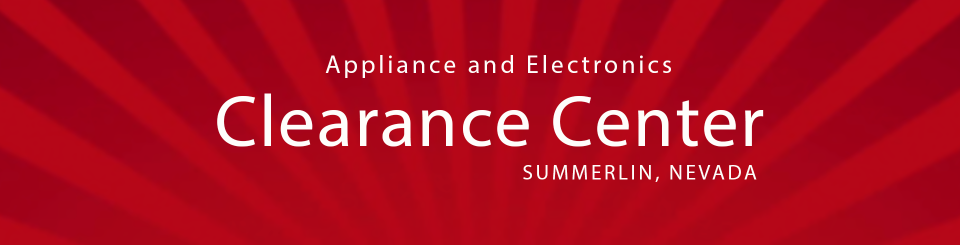 RC Willey Appliance Clearance Center in Summerlin, Nevada