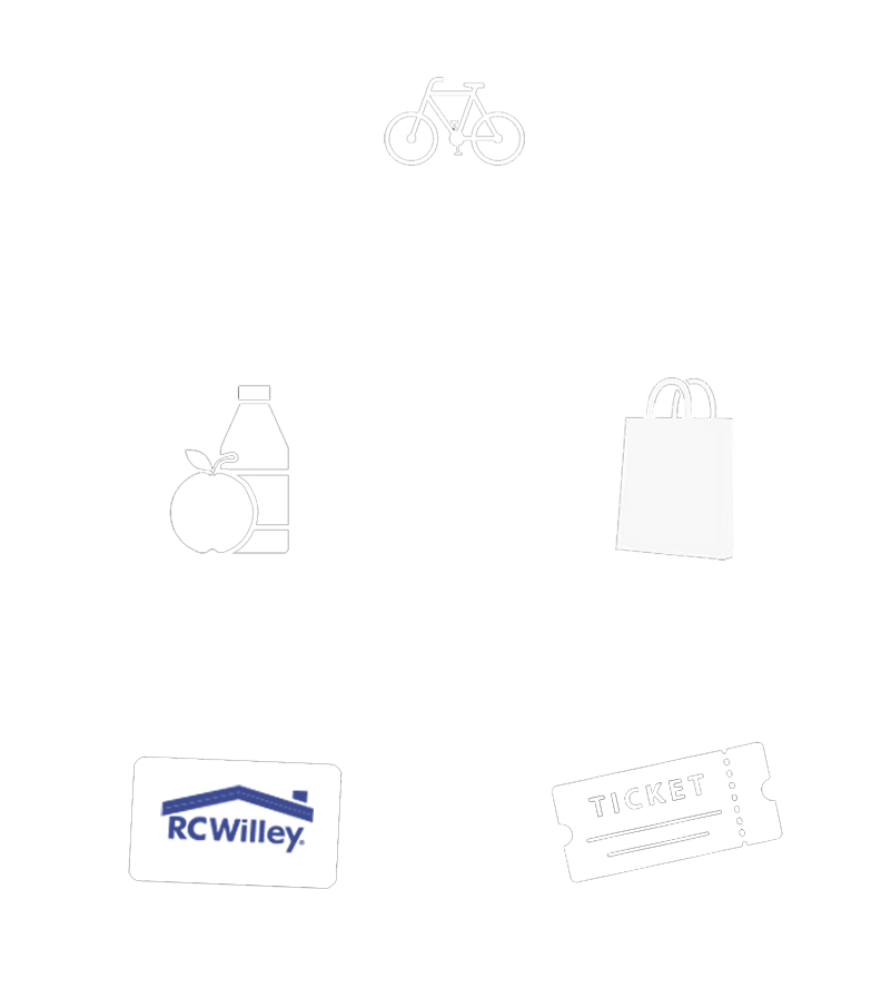 Your Ride Includes...