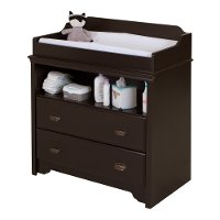 9024331 Espresso Changing Table - Fundy Tide