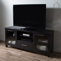 9073662 Black Oak TV Stand  up to 60 Inch - Adrian