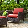 CO7118-BR Sangria Wicker Arm Chair - Kiawah