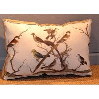 LP9039BUNTINGBIRD Bunting Bird Throw Pillow