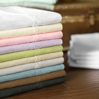 MA90QQ_MS-WH White Microfiber Queen Sheet Set