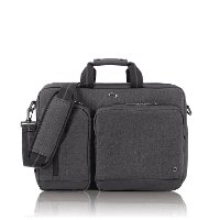 UBN310-10 SOLO 15.6 Inch Laptop Hybrid Briefcase Backpack - Gray