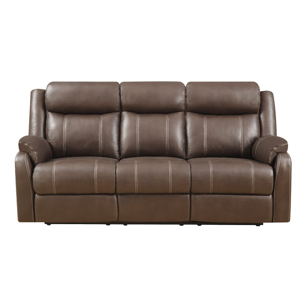 ... Valor Chocolate Brown Dual Reclining Sofa - Domino ...  sc 1 st  RC Willey & Shop couches and sofas for sale | RC Willey Furniture Store islam-shia.org