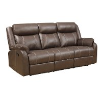 Stupendous Valor Chocolate Brown Dual Reclining Sofa Domino Andrewgaddart Wooden Chair Designs For Living Room Andrewgaddartcom