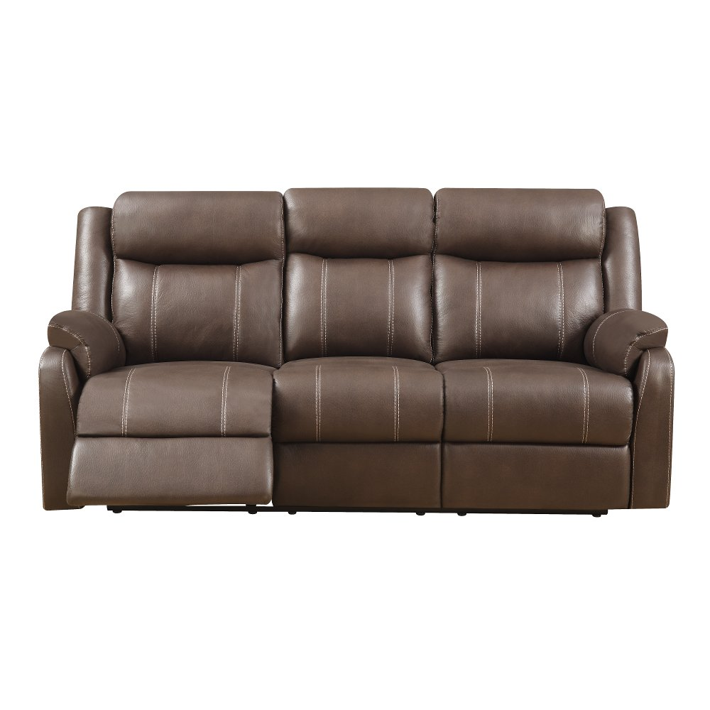 Valor Chocolate Brown Dual Reclining Sofa - Domino | RC Willey Furniture  Store