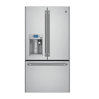 CYE22USHSS GE Cafe French Door Refrigerator Counter Depth - 36 Inch Stainless Steel