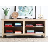 Natural 58 Inch TV Stand - Essential