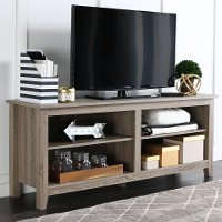 Driftwood Contemporary TV Stand