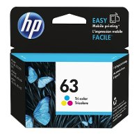 F6U61AN#140/63-TRICL HP 63 Tri-Color Original Ink Cartridge