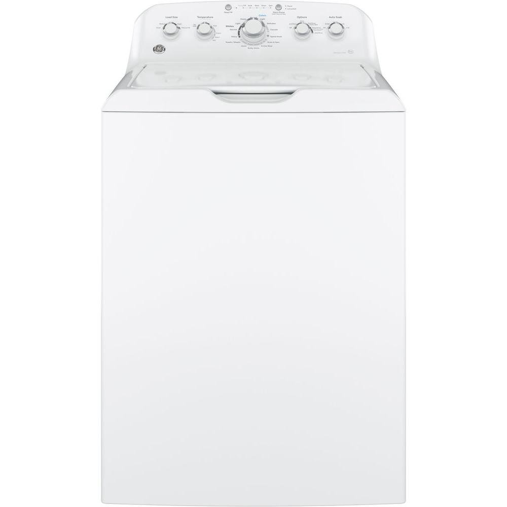 Ge Top Load Washer And Dryer Set White Electric Rc