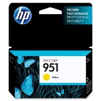 CN052AN#140/951-YELL HP 951 Yellow Original Ink Cartridge