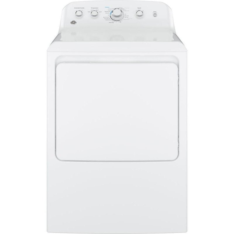 GE Electric Dryer - 7.2 cu. ft. White