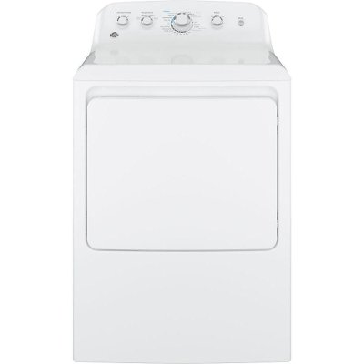 GTD42EASJWW GE Electric Dryer with Auto Dry - 7.2 cu. ft. White