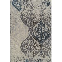 3 x 5 Small Gray and Linen Area Rug - Grand Tour