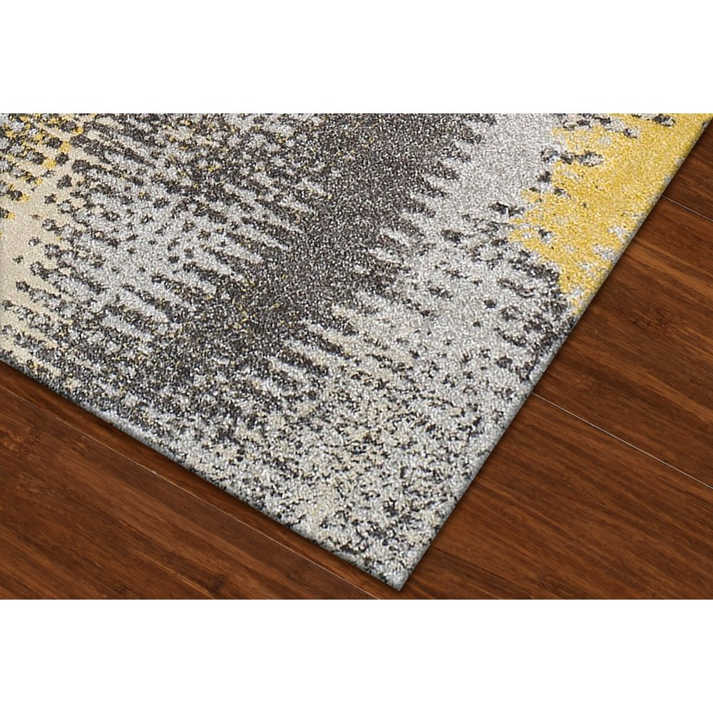 10 x 13 X-Large Yellow & Gray Area Rug - Modern Grays | RC Willey Furniture  Store