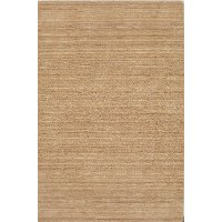 5 x 8 Medium Linen Area Rug - Rafia