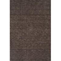 5 x 8 Medium Charcoal Gray Area Rug - Rafia