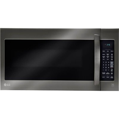 LMV2031BD LG Over the Range Microwave - 2.0 cu. ft. Black Stainless Steel