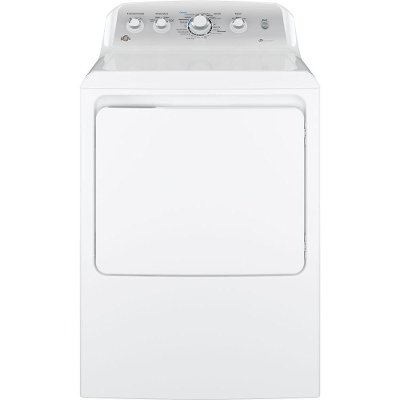 GTD45EASJWS GE Rear Control Electric Dryer - 7.2 cu. ft. White