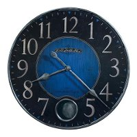 Antique Blue and Black Wall Clock - Harmon II