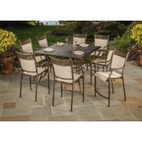 5 Piece Counter Height Patio Dining Set - Manhattan
