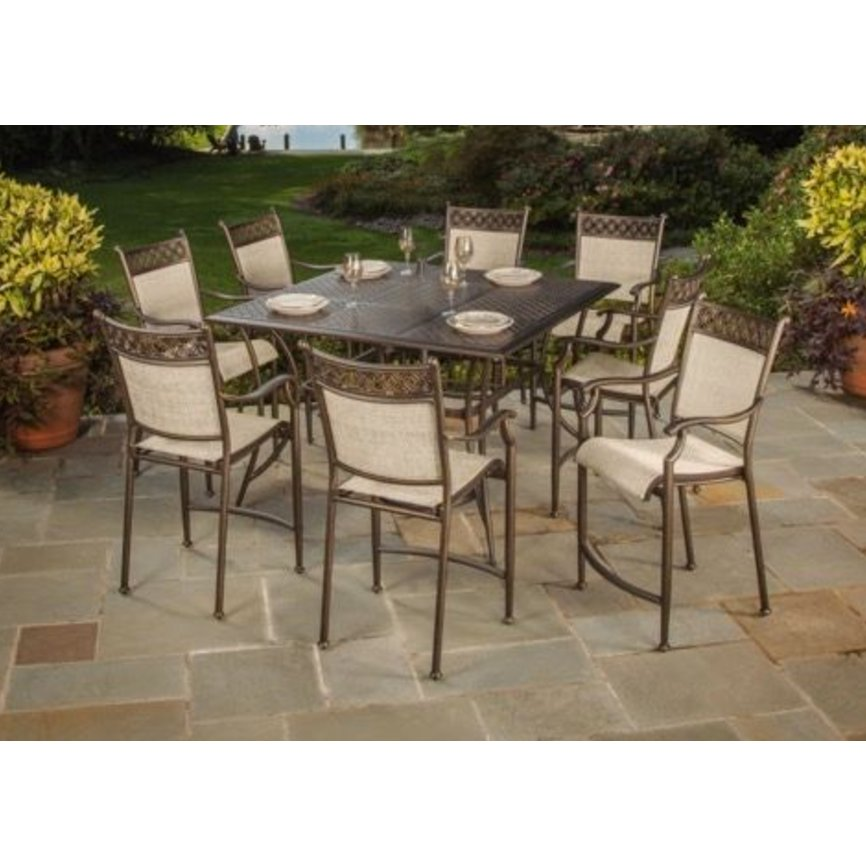 Pub Height Outdoor Dining Sets Home Design Ideas And