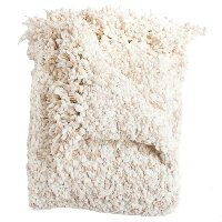 Betsy Taupe Boucle Throw Blanket