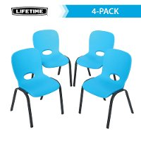 80472 Lifetime Blue Kids Chairs 4-Pack