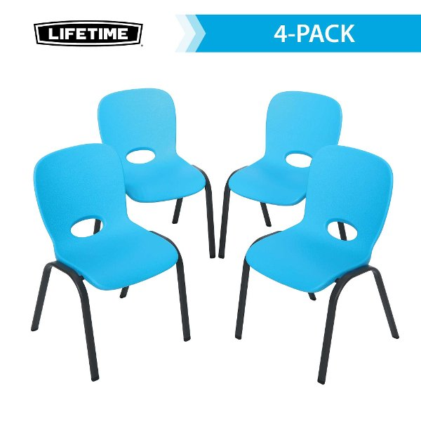 ... 80472 Lifetime Blue Kids Chairs 4-Pack ...  sc 1 st  RC Willey & Decorate your kids bedroom with kid furniture at RC Willey