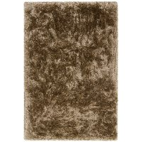 5 x 8 Medium Brown Shag Rug - Giulia