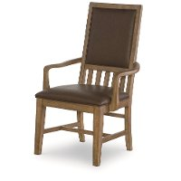 Chic Dining Room Arm Chair - Metalworks Collection