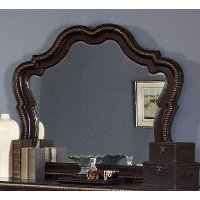 Black Cherry Traditional Mirror - Palisades