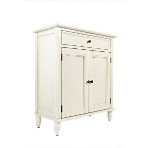 Ivory 2 Door & 1 Drawer Accent Cabinet | RC Willey Furniture Store