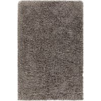 5 x 8 Medium Contemporary Gray Shag Rug - Elisha