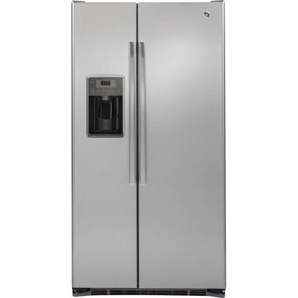 lowe cubic fridges ft steel depth appliances countertops s counter stainless refrigerator refrigerators countertop door canada french